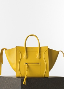 Celine-Yellow-Grained-Calfskin-Phantom-Luggage-Medium-Bag-Spring-2015